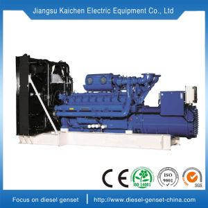 tipo raffreddato ad acqua generatore diesel silenzioso di 60kw Cina alimentato con il motore della Perkins