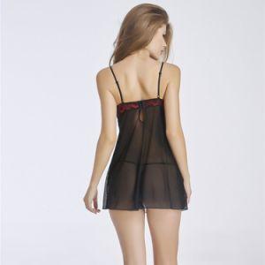 Les femmes sexy nuisette Nighty robe lingerie pour le commerce de gros