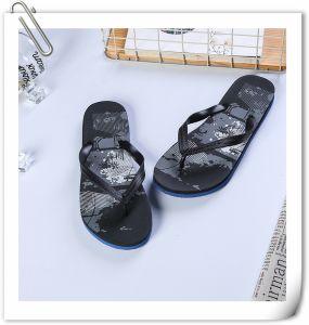 Nouveau design hommes pantoufles des sandales en caoutchouc Flip Flops personnalisé