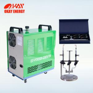 مزدوجة حقنة فوّهة [أمبوول] أكسجينيّ هيدروجينيّ زجاجيّة تعبئة و [سلينغ] آلة