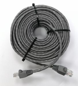 1m~50m UTP Cat5e/CAT6 cable AWG 24/23Cable conector RJ45 ISO9001/Ce/RoHS color opcional