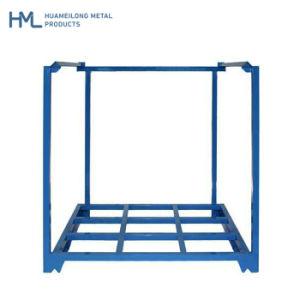 Nave industrial pesado de acero Nestainer almacenamiento apilable de transporte Puerta Palete