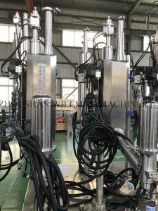 液体窒素の盛り土機械