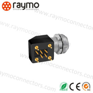 Exg 0b 304の肘の金属のプッシュプルコネクター