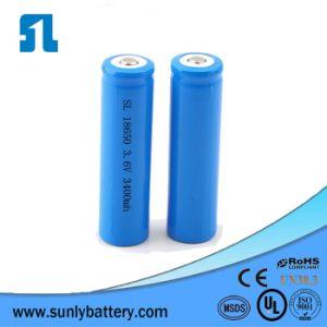 Pacchetto ricaricabile della batteria di Lipo dello ione del Li del litio del polimero del modello 18650 3400mAh 3.7V