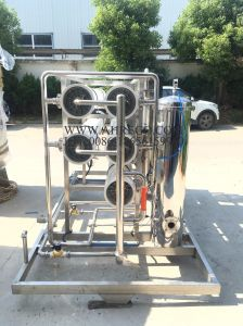 Aprobado 12.000 l/h de tratamiento de agua de Osmosis Inversa RO equipo/máquina/planta fabricante