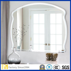 3mm 4mm 5mm 6mmの浴室の装飾的なミラー、フロートガラスアルミニウムミラー