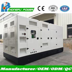 800квт 1000Ква Super Silent навес с дизельным двигателем Yuchai генераторной установки