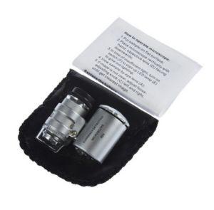 60X de miniJuwelen Loupe UV Draagbare Magnifier van de Microscoop