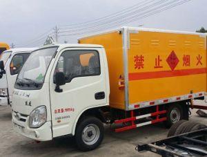 Pequenas 4*2 Yuejin 3toneladas de mercadorias perigosas veículo/ 3 Ton Explosion-Proof preço do veículo