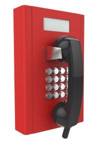 シンセンの険しい防水赤い壁SIPの電話