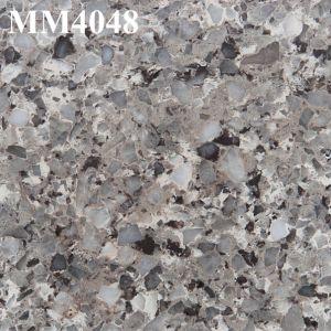 Hot Sale Granite artificiel de la dalle de pierre de quartz de grande taille
