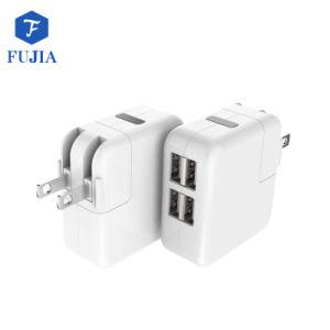 Portable US/EU/Aus tapón 4 puertos USB Cargador de pared viajes