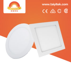 La iluminación del panel LED 3W 6W 9W 12W 18W 24W 100-265V 2700K 7500K tipo Ceililng