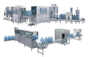 Agua 20L Máquina de Llenado Cadena de Producción de la Embotelladora/5gallon/del Agua Mineral