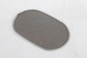 타원형 미크론 원형 스테인리스 필터 디스크에 의하여 필터되는 폴리에틸렌 입히는 펄프