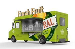Nahrungsmittel-LKW-Nahrungsmittelauto-Nahrungsmittelschlußteil der populären Lebesmittelanschaffung-2018 elektrischer