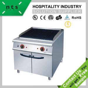 4 vier Gasbrenner mit Gas-Ofen für Hotel-Gaststätte-Küche-Gerät