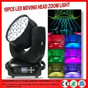 Fase de LED Light 19HP 15W DJ discoteca do Cabeçote Móvel