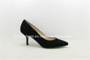 Medium Gatinho Calcanhar Comfort Leather Mulheres Equipamento