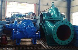 Aufgeteiltes Gehäuse-Abwasser-zentrifugale versenkbare Wasser-Pumpe