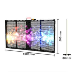 Piscina interior P3.9-7.8 transparente de LED do monitor de gelo/LED Visor de Vidro para bicicleta Fase Mostrar/parede externa