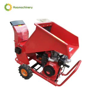 Máquina de trabajo de la madera cepillo/Árbol Chipper 15 CV