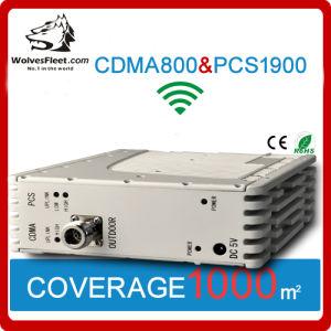 Amplificateur à amplificateur de signal de téléphone mobile CDMA / PCS à double bande