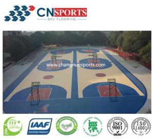 Pavimento ecologico del campo da pallacanestro per la città universitaria/banco/campo da giuoco