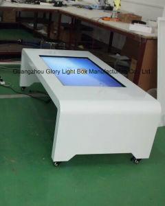 42 Zoll-mobiler Digital-interaktiver Tisch-Screen-Informations-Bildschirm