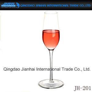 赤ワインおよび飲料のための単一のコップのガラスビン