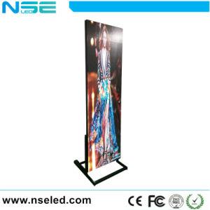 P3 Indoor Poster Numérique Portable Media Affichage LED