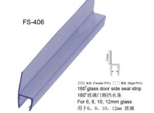 Casa de Banho de qualidade fita de vedação de PVC Porta de vidro