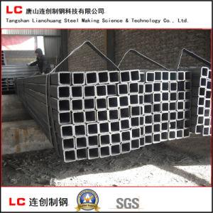 30mmx30mm cuadrado negro para la construcción de la estructura de tubo de acero