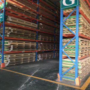 Placage en bois naturel Sapeli trimestre pour le contreplaqué de placage bois de placage