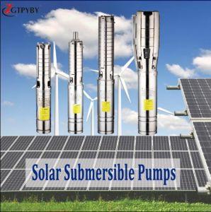 AC/DC солнечной погружение насоса насос солнечной энергии на базе солнечной системы орошения водяного насоса