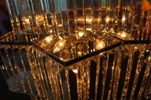 Personalizzare il lampadario a bracci a cristallo di illuminazione della decorazione dell'hotel (KA702)