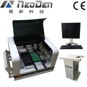 自動デスクトップの一突きおよび場所機械、48のSMTの送り装置、4つのヘッド、2台のカメラ、サポート0201。 パン切れ、BGAの1.5m LEDランプ