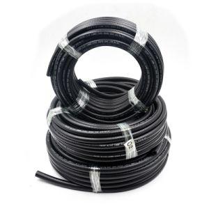 Yute 5/16の総合的で黒いゴムSAE 30r10波形の燃料ホース