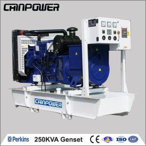 250kVA 200kw Open Type Diesel Generator