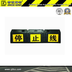 Roue de voiture en caoutchouc réfléchissant les butées de sécurité (CC-D30)