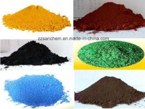 Pigment Fe2o3 van het Oxyde van het Ijzer van het Oxyde van het Ijzer van de levering het Rode/Rode Rode/van het Oxyde van het Ijzer