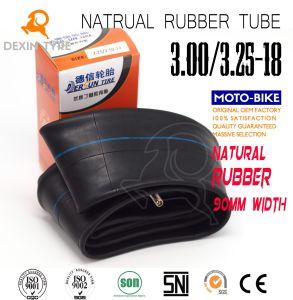 Moto de alta resistencia inicial el tubo interior del tubo de caucho natural de 3.00/3.25-18