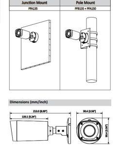 IP van de Kogel van Dahua 4MP WDR IRL Digitale Videocamera (ipc-hfw2421r-vfs-IRE6)