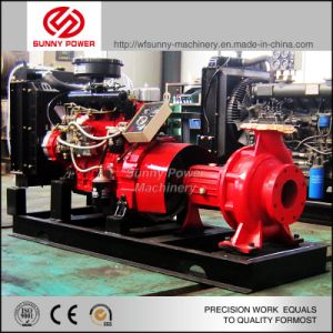 6-8 pulgadas Diesel centrífugas bomba de agua para la lucha contra incendios
