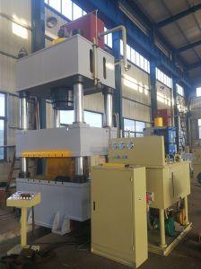 Contenedor de aluminio de hidráulica de la columna cuatro decisiones de la máquina de prensa
