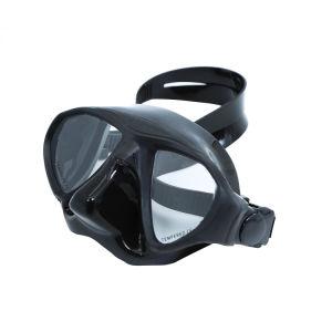 Máscara de mergulho -Premium Adulto Scuba Snorkeling máscara de mergulho, Fácil Fita ajustável, Water-Tight, baixo volume de vedação para uma melhor visão da lente