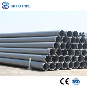 Tubo de PVC UPVC Tubo para el suministro de agua de drenaje de regadío Blanco Gris tubo Tubo de PVC-U PN6-PN25 DN20mm-DN630mm
