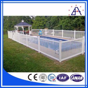 El aluminio/aluminio vallado de seguridad para la Piscina