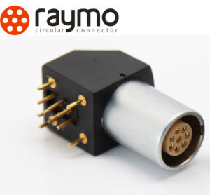 電気ソケットのExg Epg 0bの肘PCBのコネクター